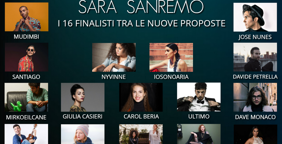 Sarà Sanremo