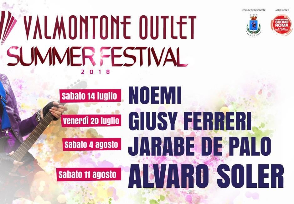 VALMONTONE Summer Festival