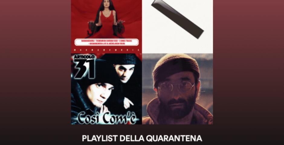 Playlist della quarantena