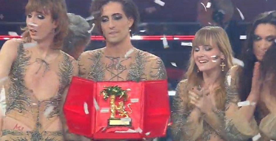 Maneskin vincono Sanremo 2021