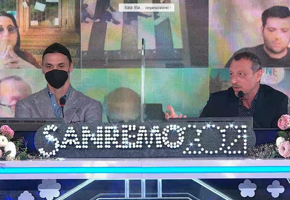 Sanremo 2021 Conferenza